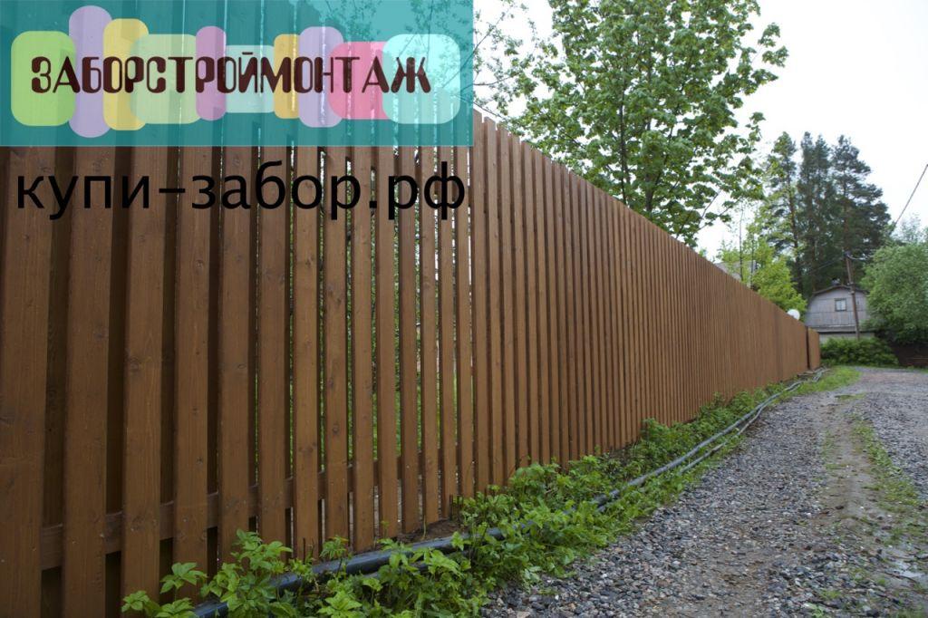 Деревянный забор шахматка своими руками 80